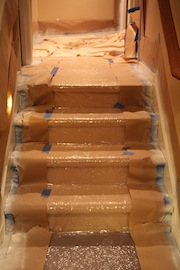 Plastic Carpet Runners For Stairs Floor Matttroy