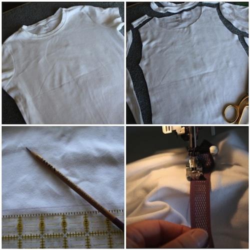 T-shirt nightie