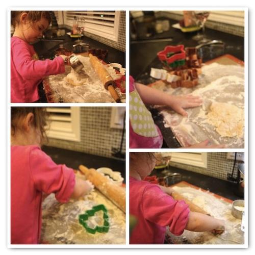 Cookies prep