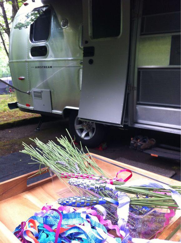 Crafting & Camping = Fun!
