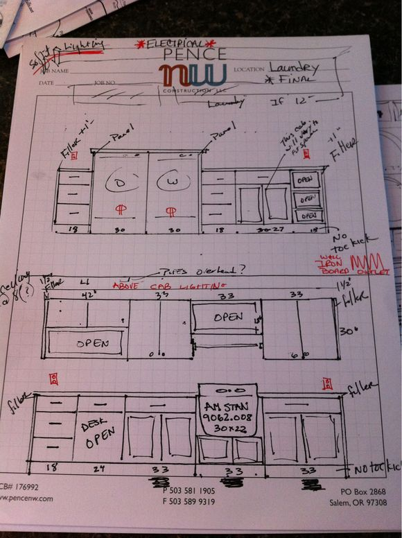 Laundry Room... Design Process