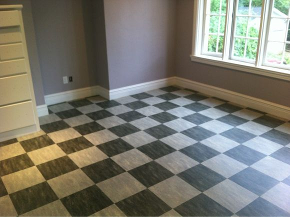 Craft room floor